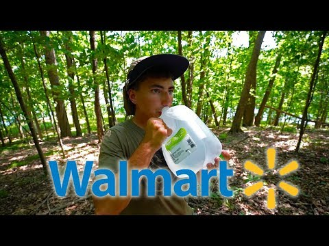 Walmart Survival Challenge!