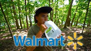 walmart survival challenge