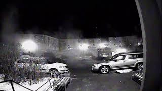 Поджог автомобиля Оренбург. Часть третья. (Крадутся, поджог) ночь 29.12.2017г.