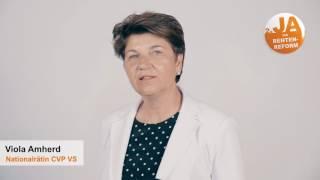 Ja zur Rentenreform: Viola Amherd