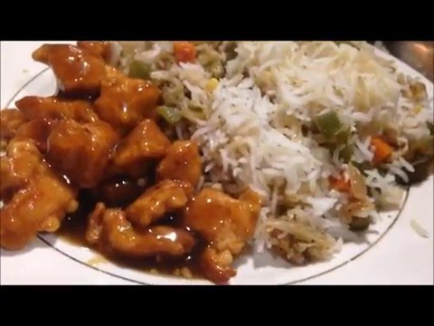 Chinese Chicken Fried Rice (no egg)