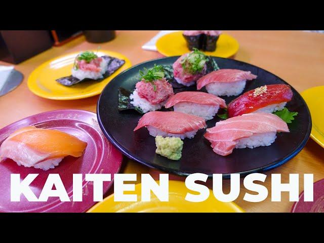 SUSHI KAITEN A TOKYO - MESE DEL SUSHI Ep. 1