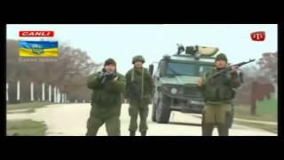 Украинские солдаты пошли на русские войска. Стрельба Крым.