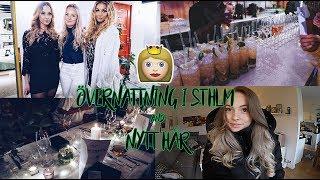 NYTT HÅR & övernattning i Sthlm | vlogg