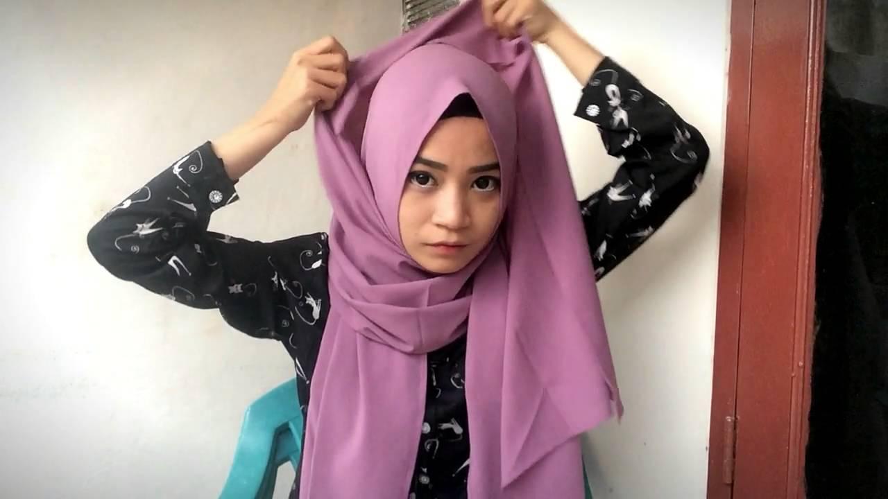 Hijab Tutorial Sehari Hari Florence Octavia YouTube