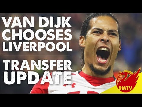 Van Dijk Agrees To Join Liverpool   LFC Daily News LIVE
