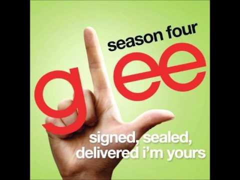 Glee - Signed, Sealed, Delivered I'm Yours (DOWNLOAD MP3 + LYRICS)