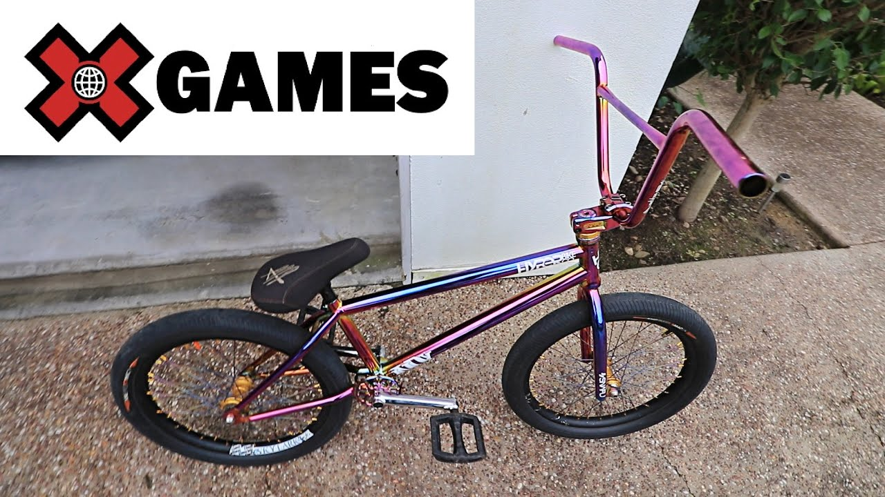 NEW BMX FOR X GAMES 2021!
