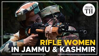 Rifle women in Kashmir