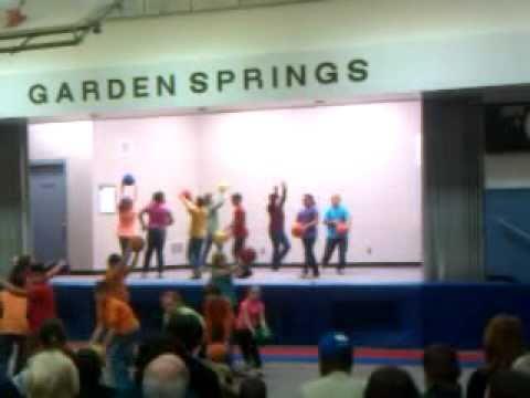 Aaron the PE Pro at Garden Springs Elementary school, Lexington, Ky 3/24/2011