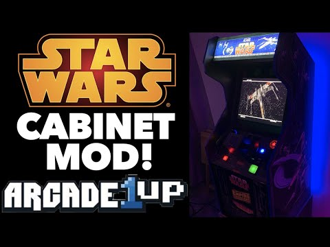 My Star Wars Arcade1Up Modded Cabinet! Added Star Wars Trilogy, Pod Racer and more! from Killer Arcade Games