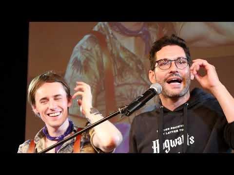 2018 JIBLand - Tom Ellis and Reeve Carney