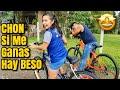 YAKI y CHON Hacen Una Carrera En Bici Mira Quien Aguantó