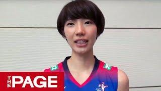 Vリーグ開幕直前 久光・石井優希 新鍋理沙 岩坂名奈