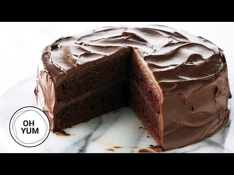 The Best Chocolate Cake Recipe! | Oh Yum with Anna Olson