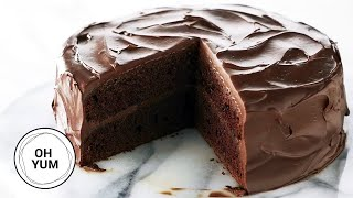 The Best Devil's Food Cake Recipe! | Oh Yum with Anna Olson