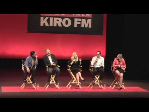 KIRO Radio on Tour - Seattle's Morning News panel