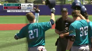 UNCW Baseball Highlights - CAA Tournament GM2 Northeastern - (May 24, 2018)