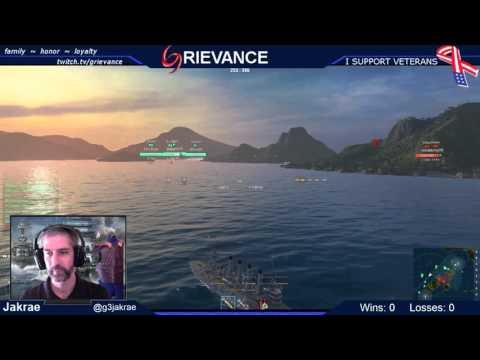 MRF Charity Stream - World of Warships