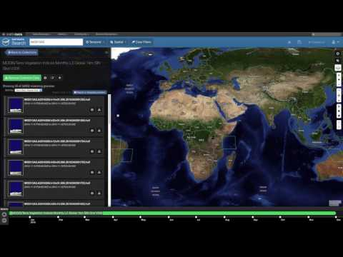 Getting Started with MODIS Version 6 Vegetation Indices Data Part 1