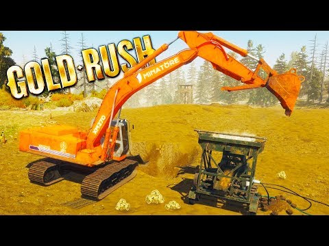 INCREASING GOLD PRODUCTION! - Gold Rush: The Game Gameplay