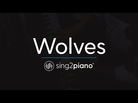 Wolves (Piano Karaoke Instrumentals) Selena Gomez & Marshmello