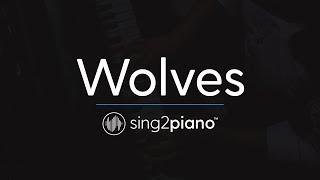vuclip Wolves (Piano Karaoke Instrumentals) Selena Gomez & Marshmello