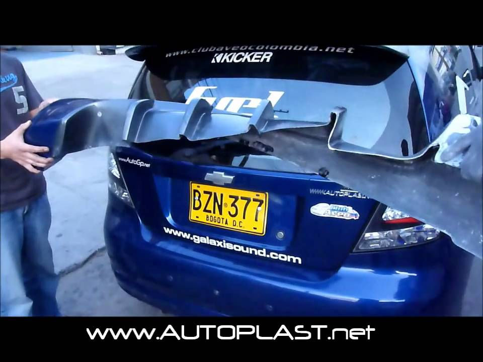 Bodykit Chevrolet Aveo Gti Fiberflex Youtube