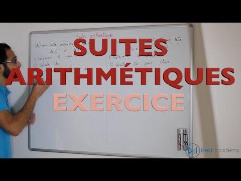 Download Suites arithmétiques - Exercice