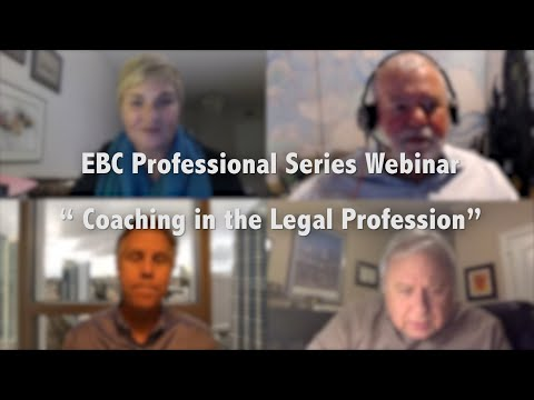 #Coaching in the Legal Profession