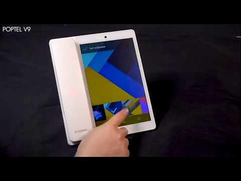 V9 - новый стационарный телефон на Андроид с беспроводной трубкой и диагностическим инструментом