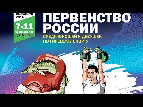 Первенство России среди юношей и девушек 2018, г. Рыбинск