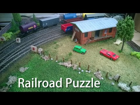 Layout Project: Inglenook Puzzle Part 2 - DC H0 Scale