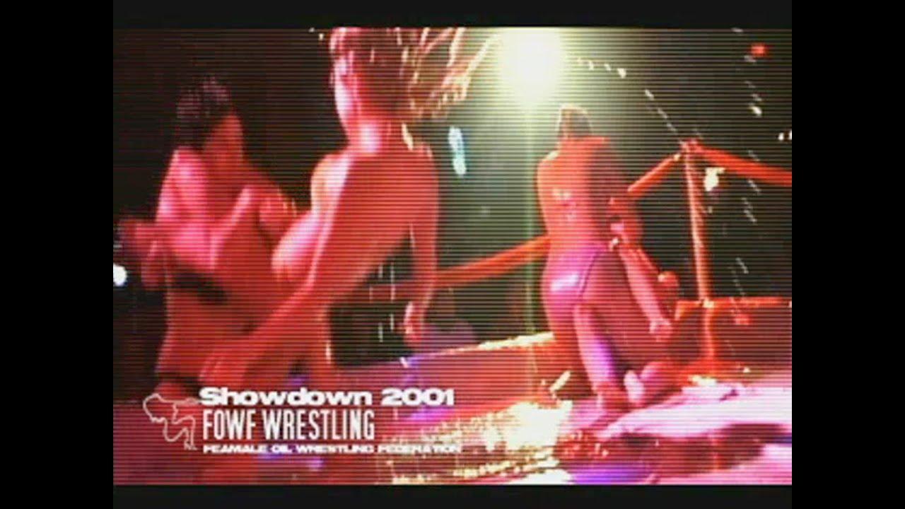Female Oil Wrestling 102