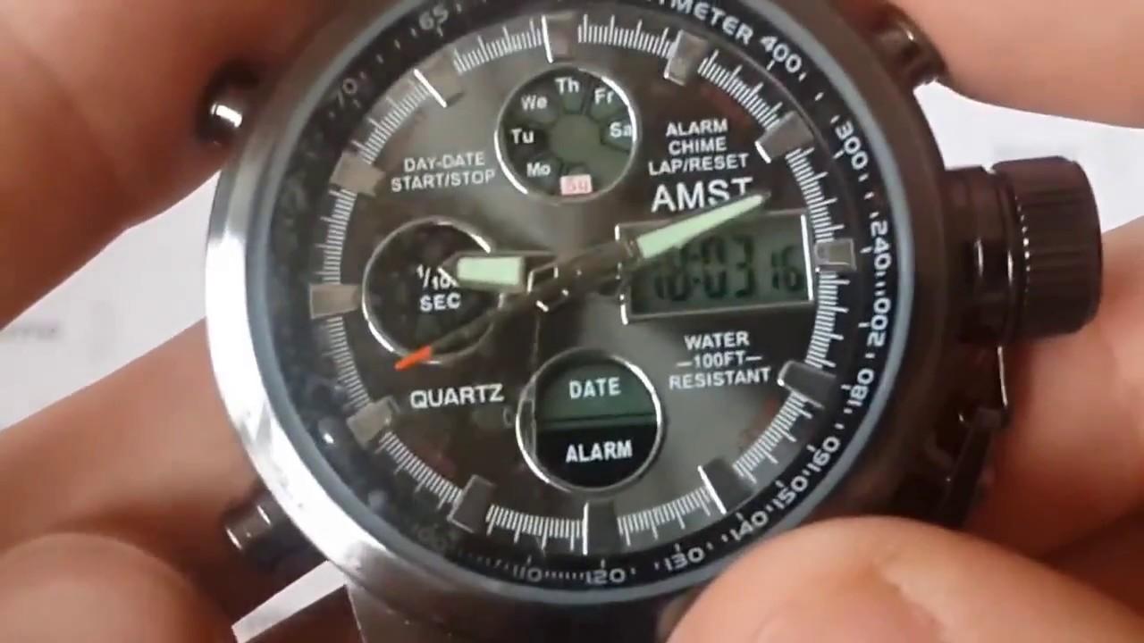 «AMST» армейские наручные часы