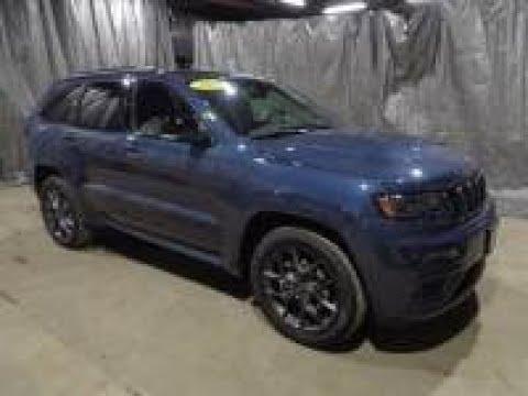 2019 Slate Blue Jeep Grand Cherokee Limited X AJT6045 ...