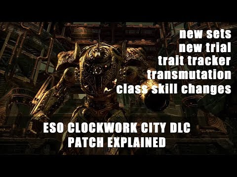 Elder Scrolls Online: Clockwork City DLC Changes Explained