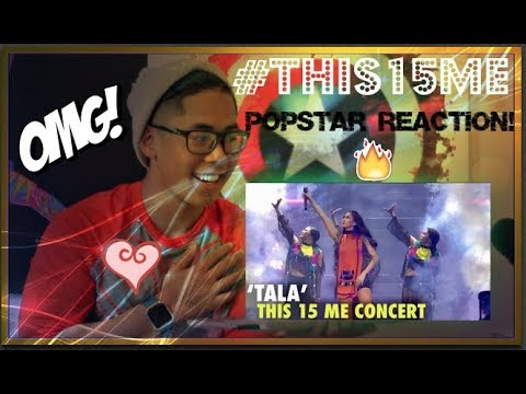 Sarah Geronimo performs TALA LIVE #This15Me CONCERT POPSTAR REACTION!