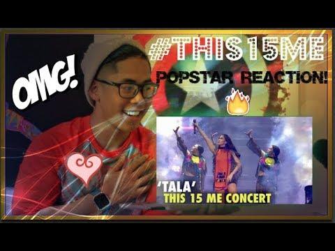 Sarah Geronimo performs TALA LIVE #This15Me CONCERT POPSTAR REACTION!
