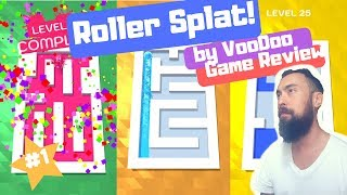 🔥ROLLER SPLAT!🎨by Voodoo🎉#1 Game on AppStore🎈Level 1-28🎉Game Play Review 🥳