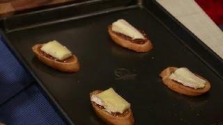 Fig & Brie Bruschetta : Bruschetta & Crostini