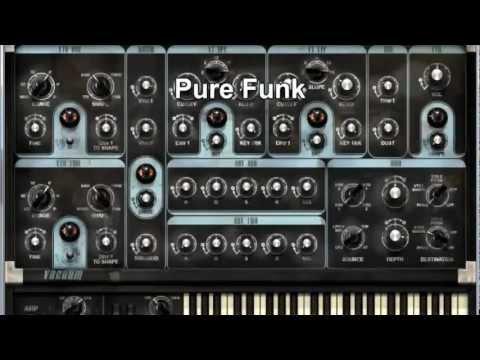 Pro Tools - Vacuum - Lead, Bass, Arp, Perc and FX demo