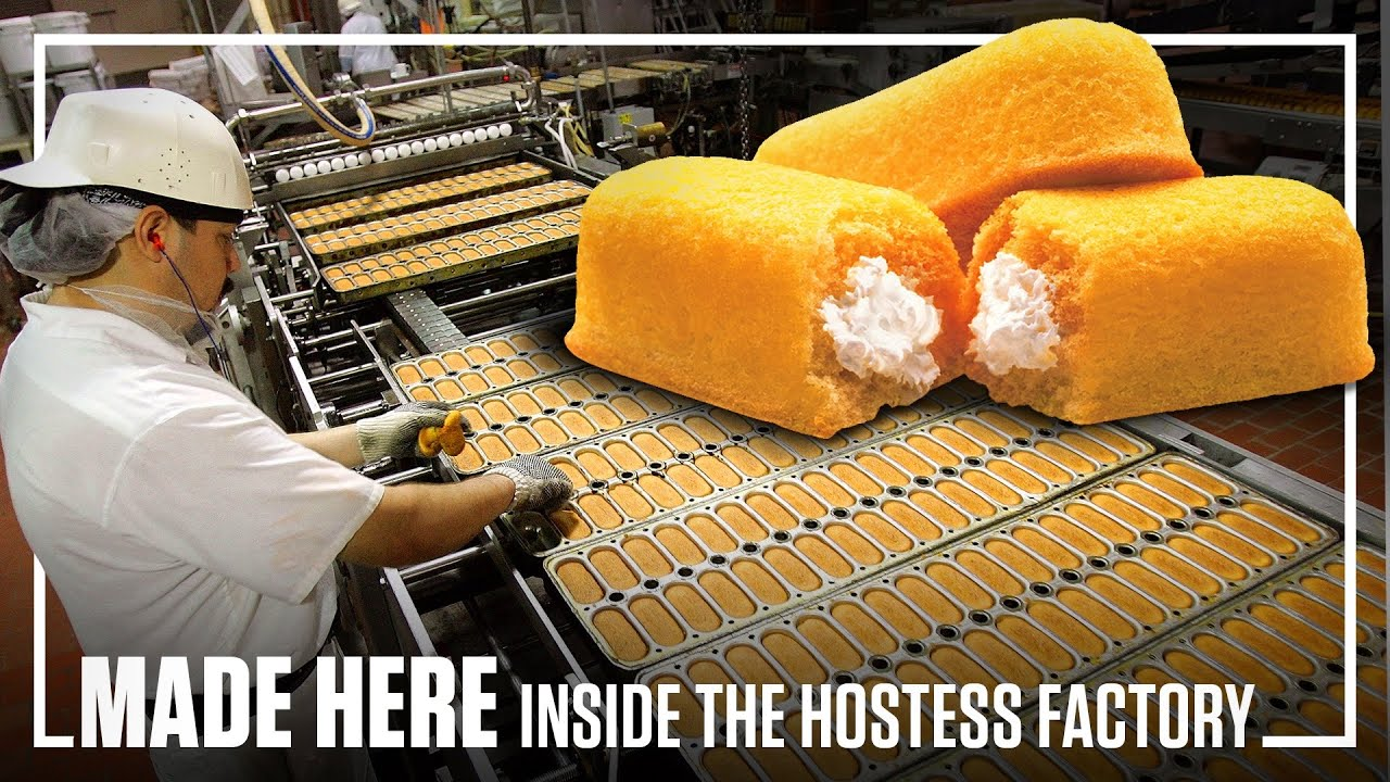 Inside The Hostess Factory | MADE HERE | Popular Mechanics