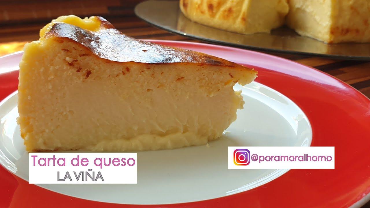 Tarta de queso la Viña de San Sebastian