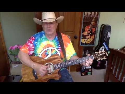 2070 -  Bartender's Blues -  George Jones vocal & acoustic guitar cover & chords