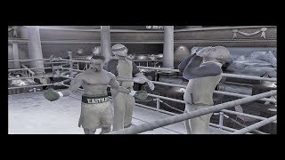 Fight Night 2004 PCSX2 Part 5 ps2 emulator CAREER MODE!