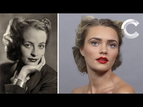 100 Years of Beauty: Germany 1910s to 1940s | Research Behind the Looks | Cut