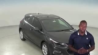 183077 - New, 2018, Chevrolet Cruze, LT, Hatchback, Gray, Test Drive, Review, For Sale -