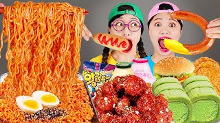 Spice Noodle Fried Chicken Convenience Store DONA Mukbang