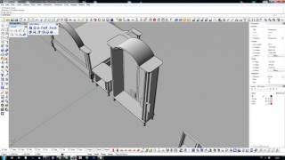 NURBS-моделирование классической мебели в Rhinoceros 4.0